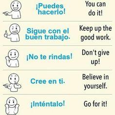 Spanish Phrases, Spanish Language Learning, English Vocabulary Words, English Phrases, Learn A New Language, Spanish Lessons, How To Speak Spanish, English Lessons, English Grammar