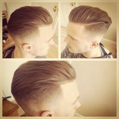 @jameslawrencept #menshair #menspire #mensstyle #menstrends #mensfashion #menshaircut #hair #haircut #fade #barber #barbering #barberlife #slickback #style