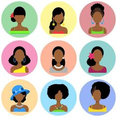 30 Trending African Hairstyles to Check Out Today | Styles At Life Country Hairstyles, Side Swept Hairstyles, Twist Braid Hairstyles, Hairstyle Look, Twist Braids, African Hairstyles, Afro Hairstyles, Side Twist Hair, Character Flat Design