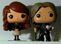 Custom Once Upon a Time Mr. Gold & Belle Funko Pops by HouseOfMouseDesigns on Etsy https://www.etsy.com/listing/218179186/custom-once-upon-a-time-mr-gold-belle
