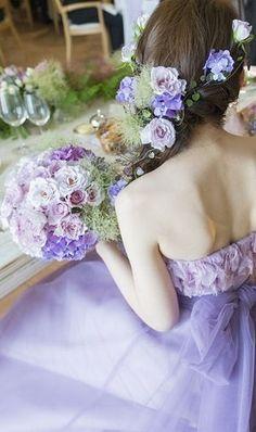 15 件のおすすめ画像(ボード「カラードレス 髪型 ロング
