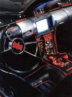 Batmobile Dashboard - Batman TV series (1966-68).