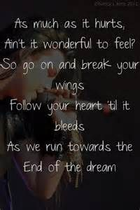 amy lee #evanescence #song quotes #end of the dream #dreams