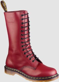 Dr Martens 1914 W 1914 W CHERRY RED SMOOTH #Boots #Shoes