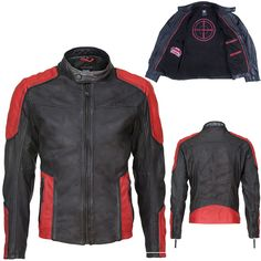 Will Smith Deadshot Suicide Squad Red and Black Biker Motorcycle Leather Jacket New Outfits, Cool Outfits, Casual Outfits, Motorcycle Jacket, Motorcycle Leather, Biker, Leather Factory, Deadshot, Blazers