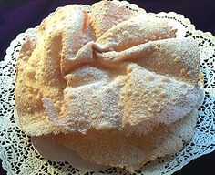 Fasnachtschüechli - Carnival cake - sugar-dusted fried dough sweets