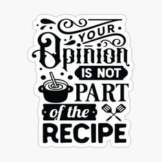 Kitchen Jokes, Kitchen Cook, Funny Kitchen, Sarcastic Sayings, Funny Quotes, Cooking Quotes, Typography, Lettering, Crafts To Sell