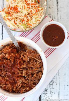 Une recette qui se prépare à la mijoteuse. Un goût parfaitement balancé. Et une sauce BBQ à l'érable qui contient du bacon... Vraiment très bon.