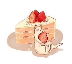 mmmmm cheesecake ^w^