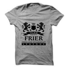 FRIER T-Shirts, Hoodies. VIEW DETAIL ==► https://www.sunfrog.com/Camping/FRIER-112836210-Guys.html?id=41382