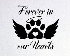 Paw Print Art, Dog Memorial Tattoos, Memorial Ornaments, Dog Signs, Pet Loss, Christmas Animals, Dog Tattoos, Rainbow Bridge, Dog Paws