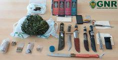Campomaiornews: Apreensão de droga e armas brancas em Campo Maior ...