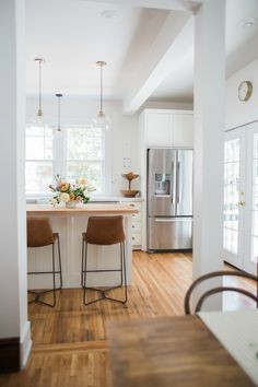 """On the Style Matters podcast we talk with Emily Netz about her """"Slow Flip Formula."""" By actually living in the homes she. Kitchen Inspirations, Kit Homes, Home, Kitchen Remodel, Kitchen Decor, Home Mortgage, Kitchen Dining Room, Kitchen Dining, Home Kitchens"""