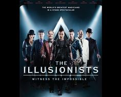 The Illusionists, magicians of the biggest selling magic show on the earth are preparing to rock the Sheikh Rashid Hall stage on 07th September 2013 with their mind bending 'technical' illusions and magic.