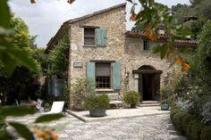 French farmhouse alternative shutter style