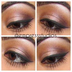 I will be posting plenty of eye looks for you all! Stay tuned. #makeup #eotd #browneyes #maccosmetics #beauty #makeupartist #eyeshadow #eyeliner #wingedliner #brows #tutorial #vancouver #mua #glitter #naked2 #urbandecay #sephora #daylook #eveninglook #indianmakeup #punjabi
