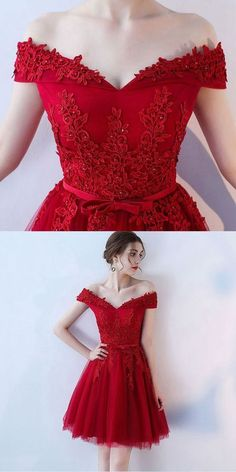 Plus Size Prom Dress, burgundy lace off shoulder short prom dress, lace evening dress Shop plus-sized prom dresses for curvy figures and plus-size party dresses. Ball gowns for prom in plus sizes and short plus-sized prom dresses Pageant Dresses For Teens, Simple Homecoming Dresses, Elegant Bridesmaid Dresses, Prom Dresses 2018, Tulle Prom Dress, Lace Evening Dresses, Lace Dress, Short Dresses, Formal Dresses