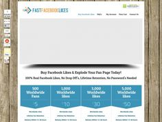 Buy Facebook Likes For $5! Lifetime Retention, No Drops!