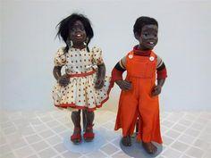Vintage 1966 nicodemus Boy Girl Dolls Artist Maggie Head Kane | eBay