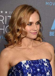 Diane Kruger's new strawberry blond hair color