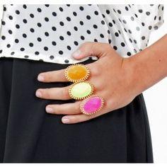 Elastic Neon Color Ring $9.99
