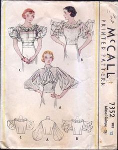 Image result for 1930'S COLLARS AND CUFFS