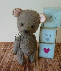 OOAK Handmade 4.5 inch Baby mouse Percy