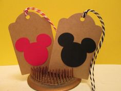 Mickey Mouse Birthday, Mickey Mouse Baby Shower, Mickey Mouse Tags, Mickey Mouse Theme.  Gift Tags, Wish Tags, Favor Tags - Set of 6 on Etsy, $7.50 Mickey Mouse Baby Shower, Baby Mouse, Mickey Mouse Birthday, Mickey Minnie Mouse, Favor Tags, Gift Tags, Mickey Party, Birthday Party Themes, Shower Ideas