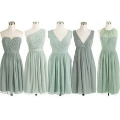 dusty green bridesmaid Dress,mismatched bridesmaid Dress,short bridesmaid dress,chiffon bridesmaid dress,https://www.lovegown.com/products/short-bridesmaid-dress-mismatched-bridesmaid-dress-pd242?variant=23547785027 Women, Men and Kids Outfit Ideas on our website at 7ootd.com #ootd #7ootd