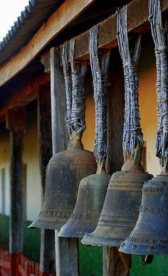 Bells-Santiago, Bolivia by Jason Weigner Wabi Sabi, Love Bells, Temple Bells, Ring My Bell, Meditation, Dinner Bell, Design Hotel, Decoration, Decorative Bells