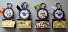 Altered Binder Clips by kaitysmom - Cards and Paper Crafts at Splitcoaststampers