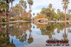Encanto Park in Phoenix