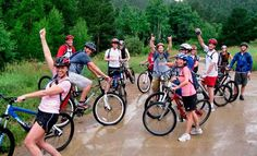 One has the option of riding beneath large sandstone mesas, through evergreen pines, over pristine singletrack, or to the heights of the Continental Divide.  Have fun mountain biking in Boulder!