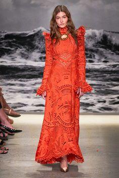 Zimmermann Spring 2020 Ready-to-Wear Fashion Show - Vogue Spring Fashion Outfits, Fashion Week, Fashion 2020, Runway Fashion, Boho Fashion, High Fashion, Fashion Show, Fashion Dresses, Fashion Design