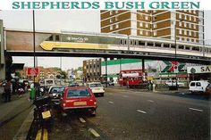 Shepherds Bush Green from a different angle Shepherd's Bush London, London Bus, Old London, West London, Acton London, Shepherds Bush, London History, White City, London Photos