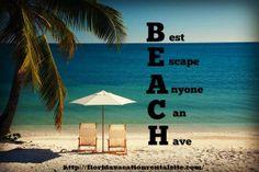 Beach  Best Escape Anyone Can Have #beach #florida