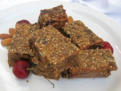 Quinoa Nut and Fruit Protein Bars | Lisa's Kitchen | Vegetarian Recipes | Cooking Hints | Food & Nutrition Articles