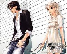 Until Death Do Us Part -- manga by Hiroshi Takashige; blind swordsman and female precog. Waiting for the anime Manga Anime, Manga Art, Anime Art, Couples Anime, Cute Couples, Awesome Anime, Anime Love, Yuri, Toyama