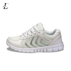 Plus Size Stability Women Men Sport Running Shoes Sneakers Breathable Mesh  Soft Trainers Quality Platform Shoe Lace up Wholesale-in Running Shoes from  ... 666cdd3b72b