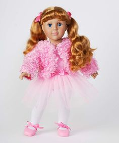 Look at this 18'' Doll & Ballerina Outfit on #zulily today!