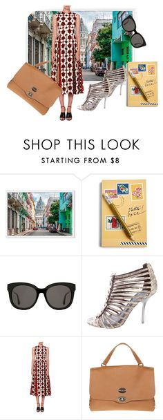"""""""Pack and Go"""" by faeryrain on Polyvore featuring Vera Bradley, Gentle Monster, Tory Burch, Valentino, Zanellato, fashionset, polyvorecontest, Packandgo and cuba"""