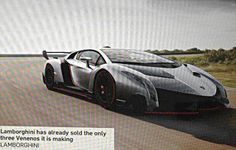 Is This The $4.6 Million Lamborghini Veneno?  I must be off; I have souls to harvest and values to warp.
