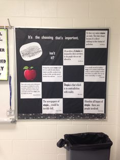 The Giver bulletin board