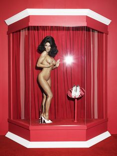Pamela Anderson Naked Shoot for Her Vegan Shoes Line