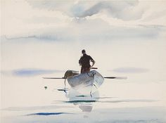 Andrew Newell Wyeth - Auction lot details - Artist auction records   WC  1938   Untitled