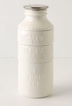 Milk Bottle Measuring Cups, Anthropologie