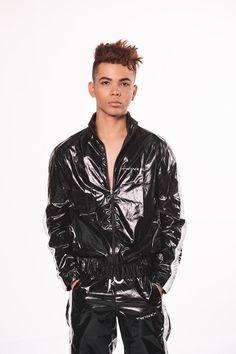 Männer Frauen PVC Split Regenmantel Tops Hosen Set Nicht Einweg Regenbekleidung