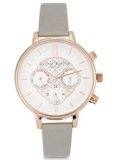 Olivia Burton | Rose gold plated watch Chronograph | Harvey Nichols