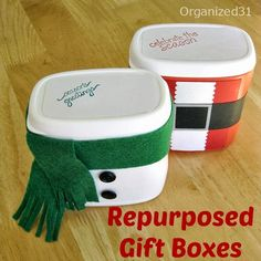 You may remember last year when I discovered the french fried onions plastic container that I turned into a Santa Treat Box. Guess what? You can find the same french friend onion container in white. As soon as I saw it I knew that I had to make a Snowman Treat box from this repurposedKeep Reading...