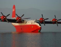 'Mighty Martin' WWII flying boats to fight fires (new life for old aircraft)